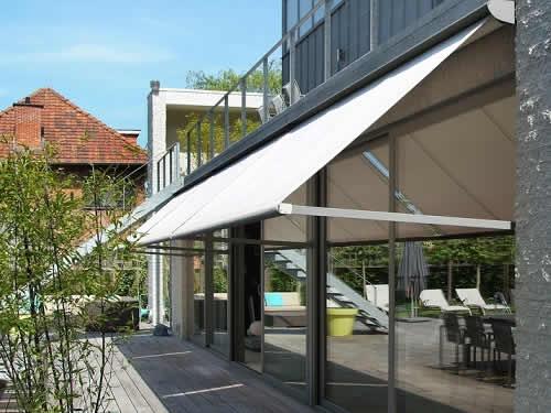 Store solaire pour extérieur